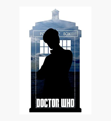 Dr. Who silhouette T-Shirt / Hoodie  Photographic Print