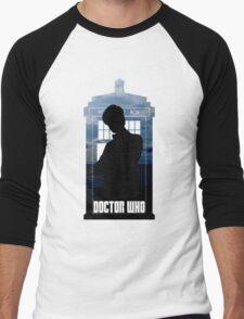 Dr. Who silhouette T-Shirt / Hoodie  Men's Baseball ¾ T-Shirt