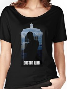 Dr. Who silhouette T-Shirt / Hoodie  Women's Relaxed Fit T-Shirt