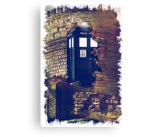 Call Box Geek T-Shirt / Hoodie Canvas Print