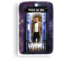 Ninth Doctor Blue Box T-Shirt / Hoodie Canvas Print