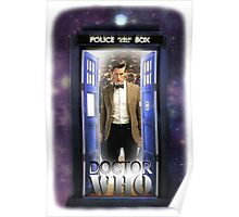 Ninth Doctor Blue Box T-Shirt / Hoodie Poster