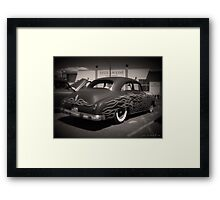 50s and Flames Framed Print