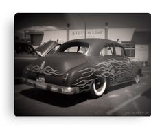 50s and Flames Metal Print