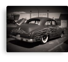 50s and Flames Canvas Print