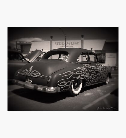 50s and Flames Photographic Print