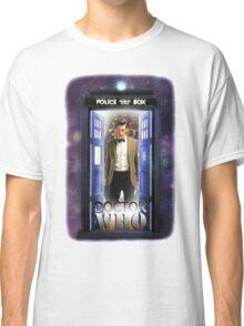 Ninth Doctor Blue Box T-Shirt / Hoodie Classic T-Shirt