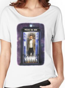 Ninth Doctor Blue Box T-Shirt / Hoodie Women's Relaxed Fit T-Shirt