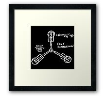 Flux capacitor / Back to the futur ( BTTF ) Framed Print