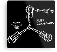 Flux capacitor / Back to the futur ( BTTF ) Metal Print