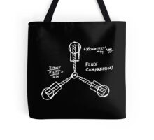 Flux capacitor / Back to the futur ( BTTF ) Tote Bag