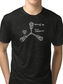 Flux capacitor / Back to the futur ( BTTF ) Tri-blend T-Shirt