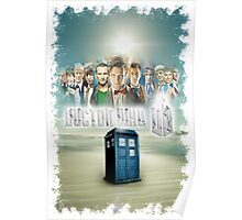 Blue Box Cover Tardis T-Shirt ? Hoodie Poster
