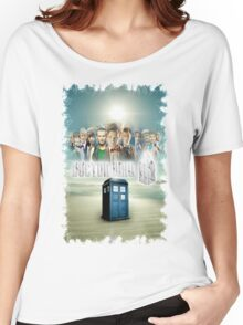 Blue Box Cover Tardis T-Shirt ? Hoodie Women's Relaxed Fit T-Shirt