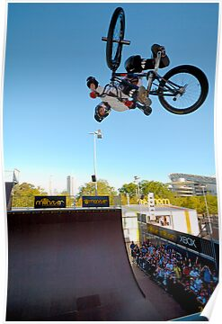 BMX at Monster by Bill Fonseca