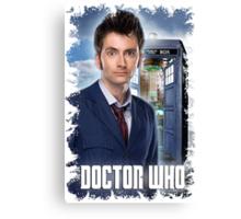 Nerdy Dr Who T-Shirt / Hoodie Canvas Print