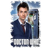 Nerdy Dr Who T-Shirt / Hoodie Photographic Print