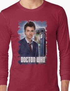 Nerdy Dr Who T-Shirt / Hoodie Long Sleeve T-Shirt