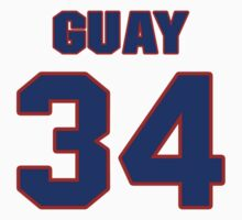 National Hockey player Paul Guay jersey 34 by imsport