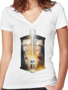 Geeky The Doctor Tee T-Shirt - Hoodie Women's Fitted V-Neck T-Shirt