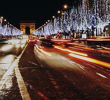 Arc de Triomphe by richardfrank