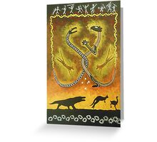 Ancient Australia Greeting Card