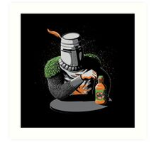Most Interesting Knight in the World Art Print