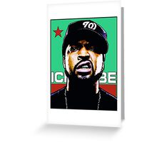 HIP-HOP ICONS: ICE CUBE Greeting Card