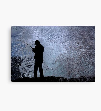 In A Split Second Canvas Print