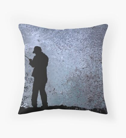 In A Split Second Throw Pillow