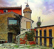 El faro in Portoferraio - Toscany by gluca