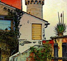 El faro in Portoferraio - Toscany Sticker