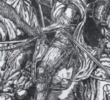 Doom, Death and Liberty Sticker