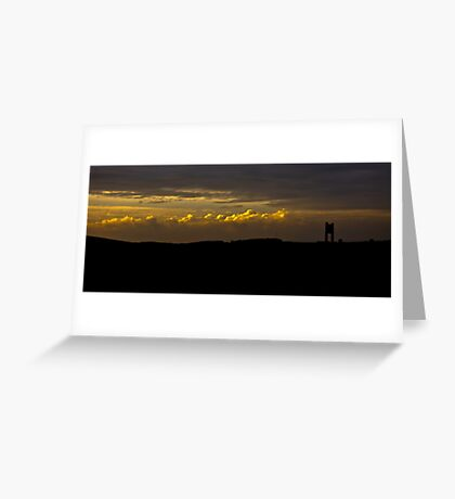 Stylised Landscape Greeting Card