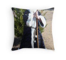 Father Tine Throw Pillow