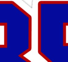 National Hockey player Jimmy Howard jersey 35 Sticker