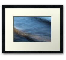 The Space Between Us Framed Print