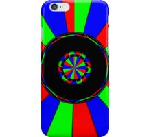 Colorful rays iPhone Case/Skin