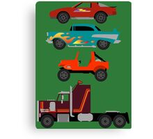 The Car's The Star: M.A.S.K. Canvas Print