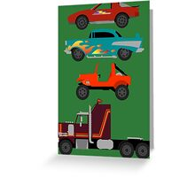 The Car's The Star: M.A.S.K. Greeting Card