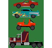 The Car's The Star: M.A.S.K. Photographic Print