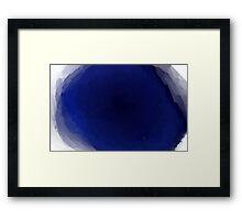 Basin Framed Print