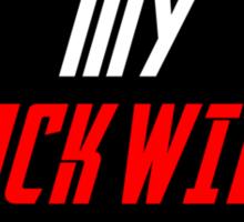 Black Widow Movie Sticker  Sticker