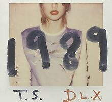T.S. 1989 D.L.X. Album cover by Molly B.