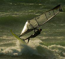 Sailing on Air & Spray by Sandy  McClearn