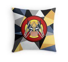 Wolverine polygon Throw Pillow