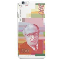 200 New Shekel note bill iPhone Case/Skin