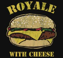 Royale With Cheese by KDGrafx