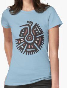 Inca Animals: Turkey - Cool Bird Womens Fitted T-Shirt