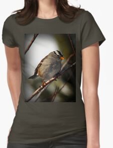 White Crowned Sparrow Winter T-Shirt